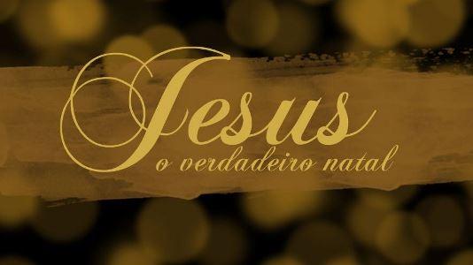 Natal Jesus Jesus, que bom que você veio!