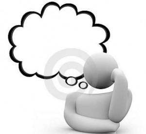 bolha do pensamento pessoa de pensamento 11771374 300x277 O que é pensamento?