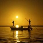 Jesus ensina a pescar