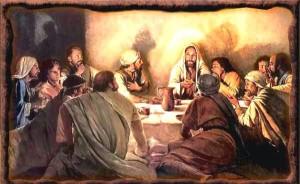 ceia do senhor santa ceia 300x184 A última páscoa e a primeira Santa Ceia