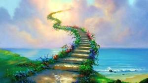 A Escada de Ouro com mold  300x169 A visão da escada de Jacó