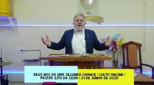 Mensagem do dia 21/06/2020 por Zito da Silva  Deus nos dá uma segunda chance  Mateus 26:69 até o 74