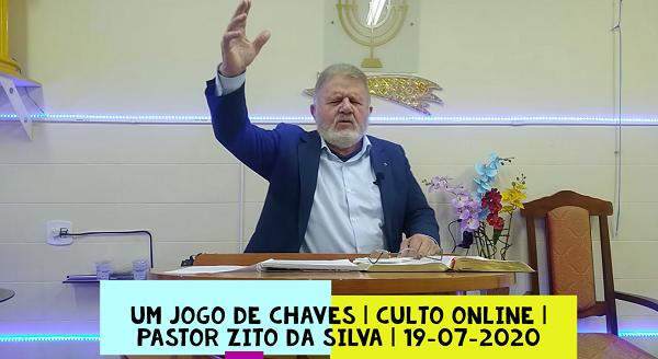 Mensagem do dia 19/07/2020 por Zito da Silva Um Jogo de Chaves Mateus 16