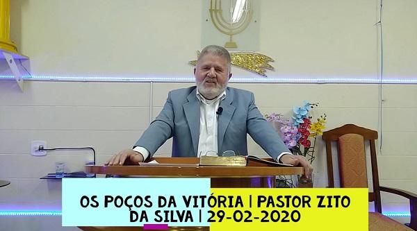 Mensagem do dia 29/08/2020 por Zito da Silva Os poços da vitória