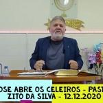 José abre os celeiros | Culto On-line | Pastor Zito da Silva | 12 de Dezembro de 2020
